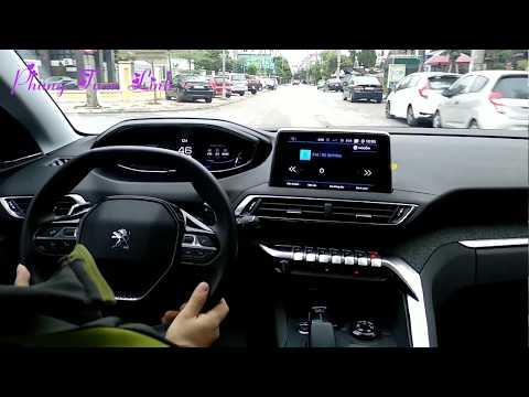 "LÁI THỬ PEUGEOT 5008 QUYẾT TRÁI ""LỜI "" VỢ BẢO MUA XE NHẬT    Peugeot 5008 SUV review 2018"