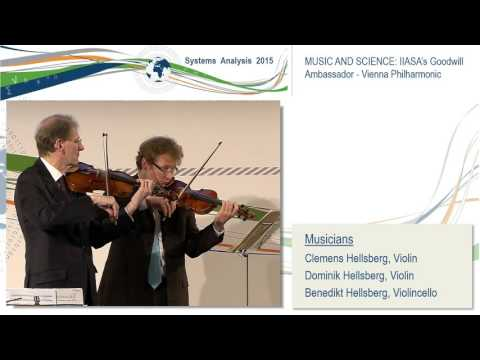 Music and Science: IIASA's Goodwill Ambassador, Vienna Philh
