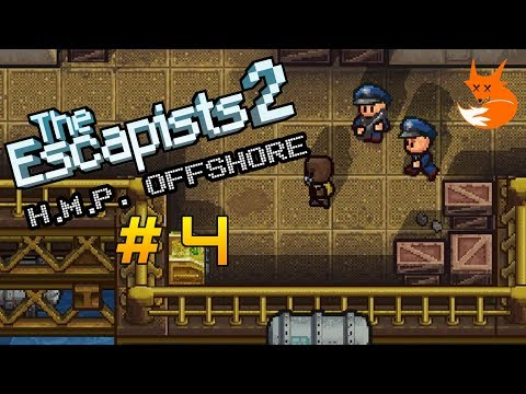 H.M.P. OFFSHORE GAMEPLAY #4 | The Escapists 2 [Xbox One]