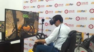 VR Heavy Equipment Simulator