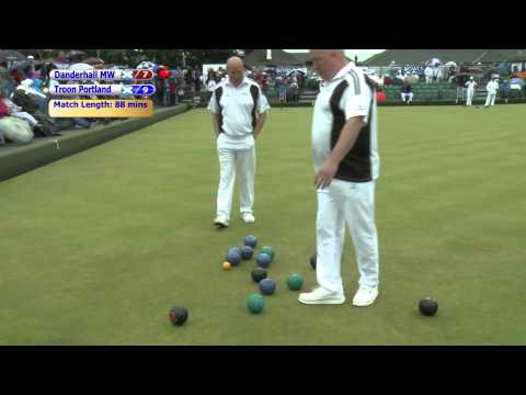 Bowls Scotland National Championships 2014 - Men's Pairs SF2