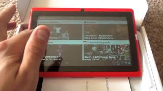 Allwinner Android Tablet Q88 A13, Android 4.0, 4GB Android MID Tablet PC