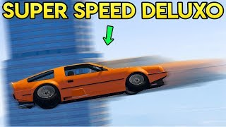 GTA Online - DELUXO SUPER SPEED TRICK (How to go Faster Than Anything in Game)