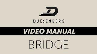 Дюзенберг Відео Керівництво Міст (Глава 5)