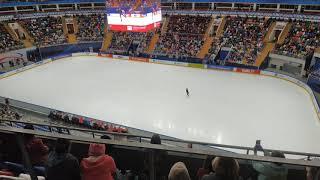 Евгения Медведева Контрольные прокаты произвольная программа Дворец Мега спорт 2020