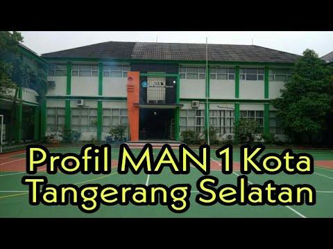 Profil Man 1 Kota Tangerang Selatan Masih Amatiran Youtube
