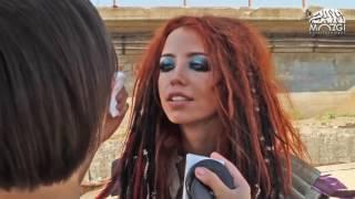 Время и Стекло -  Серебряное море( Как снимался клип )