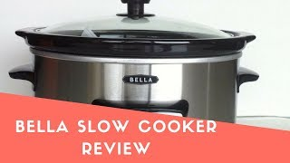 Bella Manual Slow Cooker Review | Top Bella Slow Cooker 2018 (New)