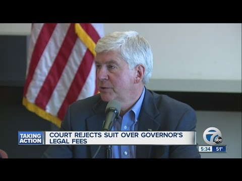 Court denies request for investigation into Governor Snyder's legal fees during Flint crisis