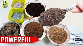 POWERFUL FERTILIZER MIX RECIPE DIY:  UNIVERSAL All-purpose Mixed Cocktail Fertilizer