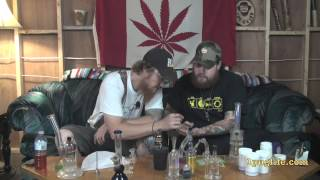 THC episode-142 sublimator session with different types of hashes