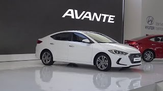 Hyundai Unveiled All-New Avante(Elantra)AD 2016 현대 아반떼AD 2016 출시 2015.9.9