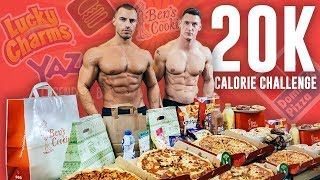 20,000 CALORIE CHALLENGE | Ultimate Cheat Day