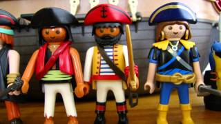Playmobil pirates collection with new Pirates Ship 5135