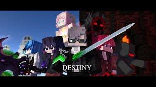 Andquotdestinyandquot - A Minecraft Original Music Video ♪
