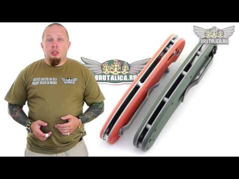 RAT-1:  Ganzario vs Ontario - Ganzo 727M обзор ножа