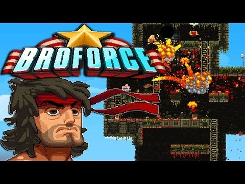 MANLIEST GAME EVER! | Broforce |