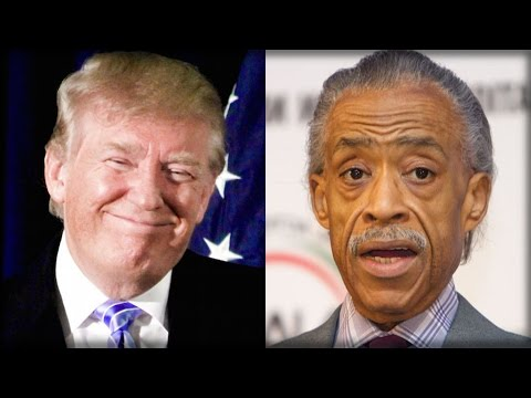 MOMENTS AGO TRUMP CALLED AL SHARPTON AND TOLD HIM SOMETHING THAT SHOCKED THE COUNTRY