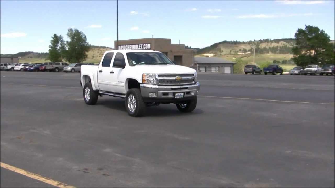 Lifted 2012 Chevy Silverado 1500 - Rapid City