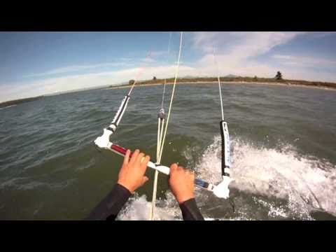 Jetty Island Kiteboarding