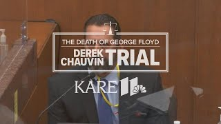 WATCH LIVE - Derek Chauvin trial: MPD use of force training expert Lt. Johnny Mercil takes the stand