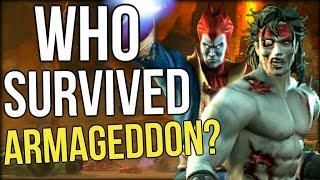 Who Survived Mortal Kombat Armageddon?