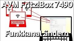 AVM Fritz!Box 7490 - Funkkanal ändern    #dslhilfe