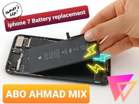Iphone 7 Battery Replacement تبديل بطارية ايفون ٧ Youtube