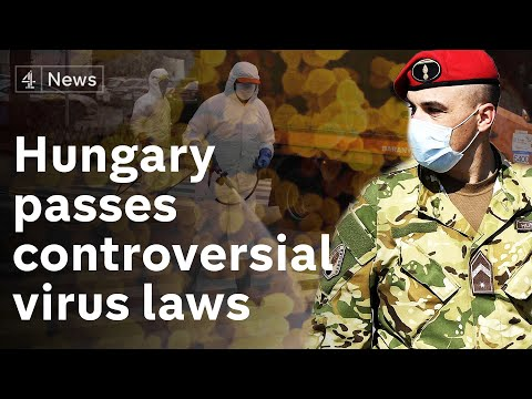 Hungary passes controversial coronavirus law - opposition say puts democracy in 'quarantine'