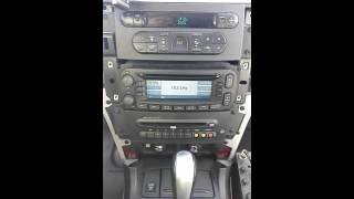 Radio NAVI Voyager is activated at a Chrysler Pacifica