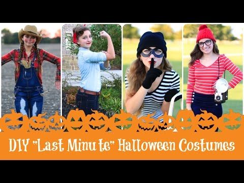 4 diy last minute halloween costumes brooklyn bailey youtube 4 diy last minute halloween costumes solutioingenieria Images
