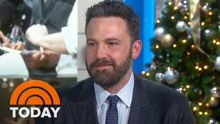Ben Affleck Talks New Film 'Live By Night,' Brother Casey Affleck's Golden Globe Nod | TODAY