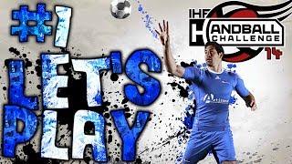 Mode carrière #1   IHF Handball Challenge 14