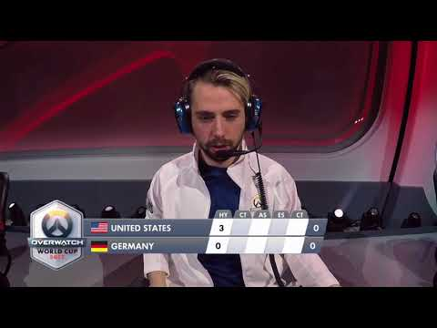 USA vs Germany | Los Angeles Group Stage | Overwatch World Cup
