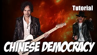 como tocar chinese democracy   guns and roses   tutorial guitarra   axl rose   intro parte 1