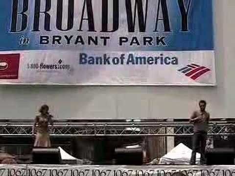 For The First Time - TARZAN, Broadway In Bryant Park 2006