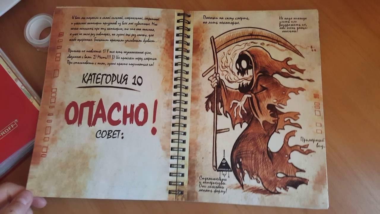 Картинки страниц дневника 3 из гравити фолз распечатать 2