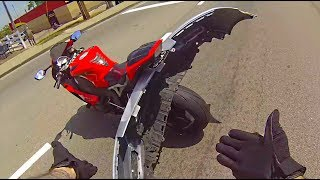 MOTORCYCLE CRASHES and MISHAPS 🔥 ROAD RAGE \  BIKER CRASHING HARD [Ep #20]