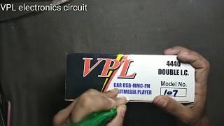 Car usb MP3 player in 4440 ic in hindi