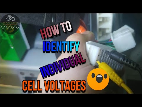 How To Verify Hybrid Battery Cell Voltages