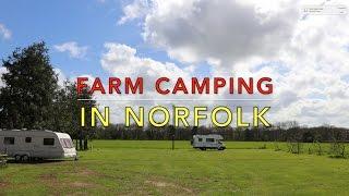 Osier Farm Caravan & Motorhome site, nr Gt Yarmouth, Norfolk
