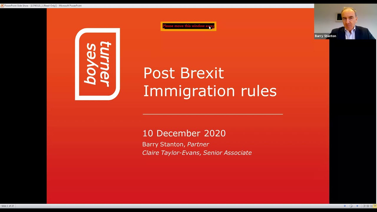 Post Immigration Rules | The impact on your recruitment strategy
