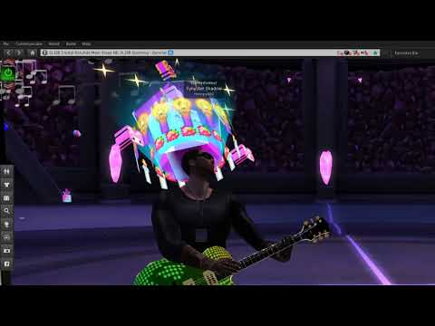 Synyster Shadow Performing at SL15B Funk Style Jam