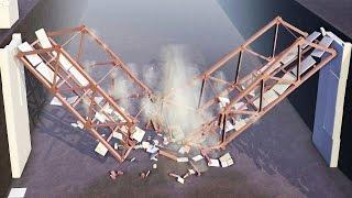 bridge destruction dicing engine