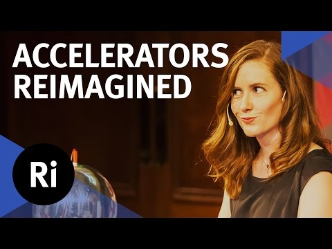Particle Accelerators Reimagined - with Suzie Sheehy