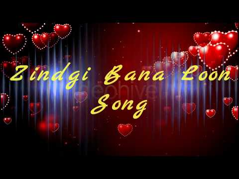 Zindgi Bana Loon Song - Palak Mucchal - lyrical full video - Adi Edits