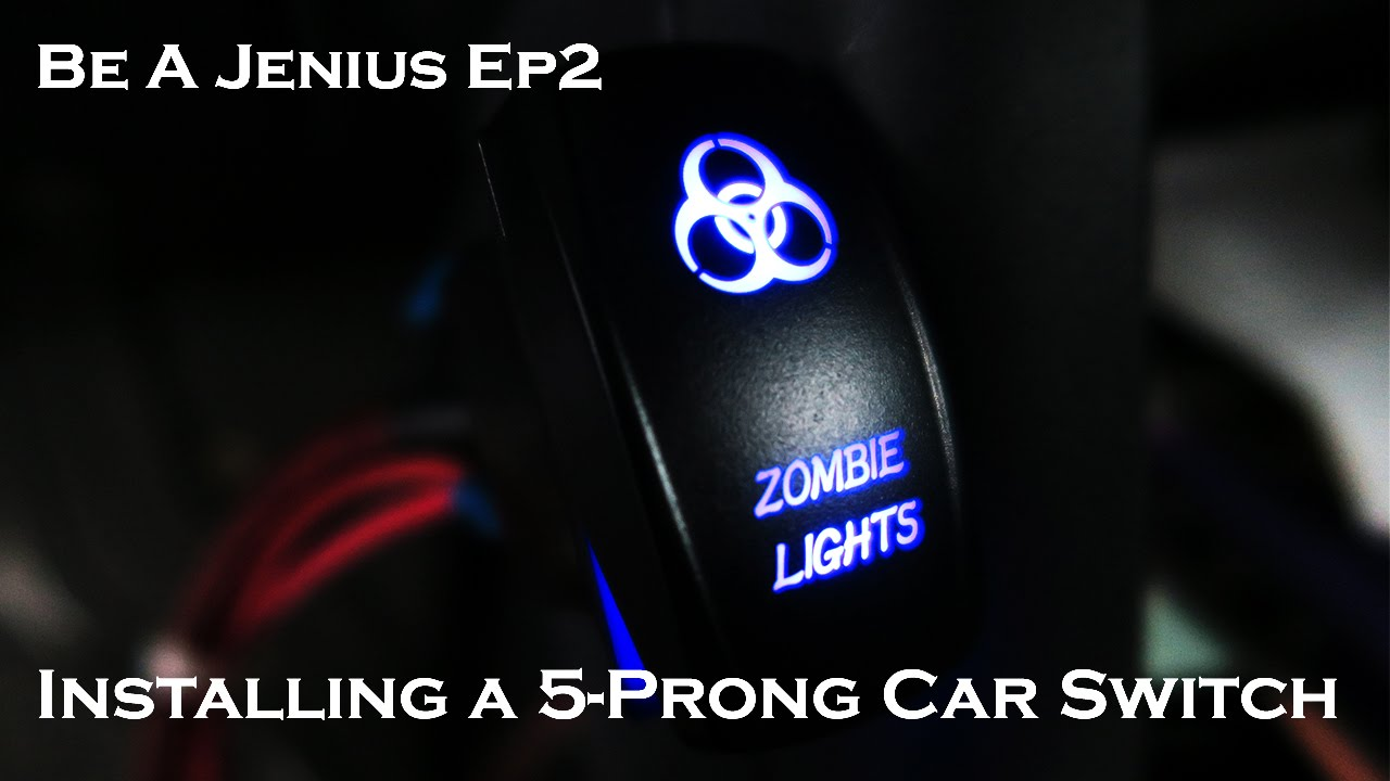 Be a Jenius Ep2: Installing a 5 prong car switch  YouTube