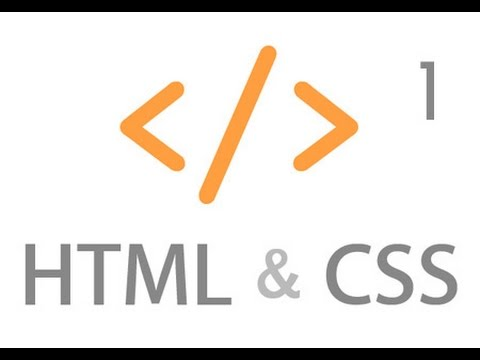 Intro To HTML And CSS Part 1 - Text Editors
