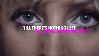 'Till There's Nothing Left' - Cam (Lyrics)