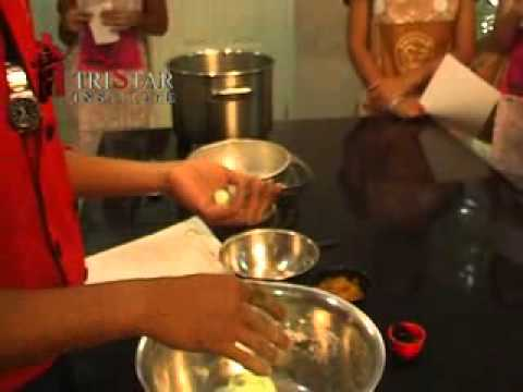 How to Make Klepon - Indonesian Cooking Class @ Tristar Culinary Institute